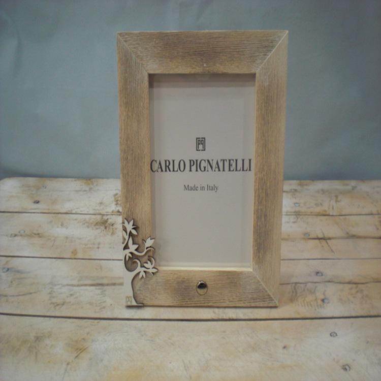 Cornice legno carlo pignatelli ideas for wedding for Cornice foto legno